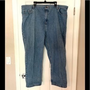 Vintage Faded Glory Plus Size Blue Straight Jeans